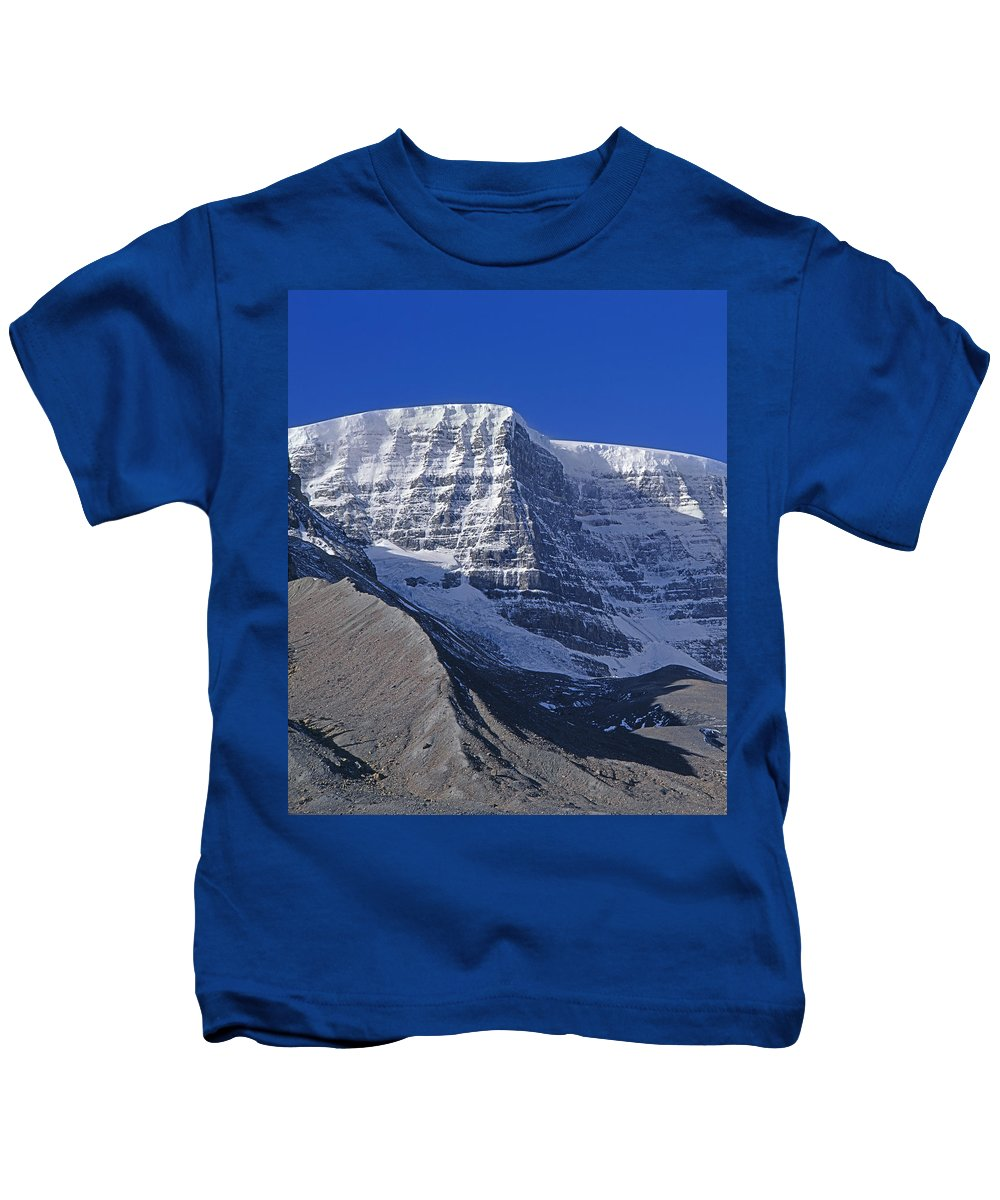 Snow Dome Kids T-Shirt featuring the photograph 1m3732-v-snow Dome by Ed Cooper Photography