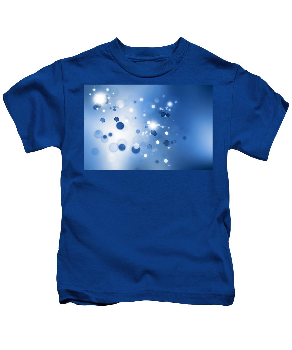 Abstract Kids T-Shirt featuring the photograph Abstract Background by Les Cunliffe