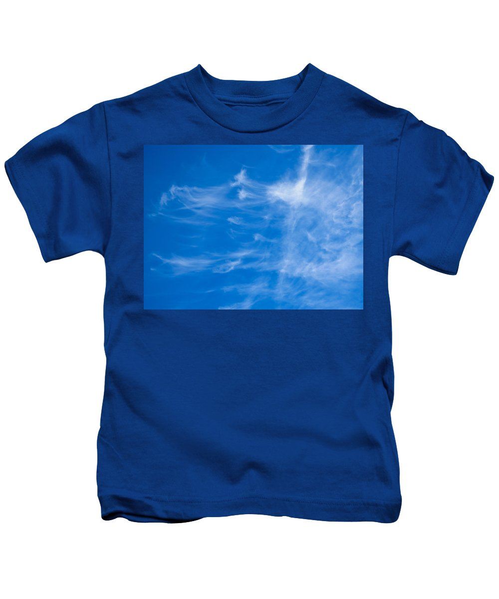 Summer Kids T-Shirt featuring the photograph In The Clouds by David Pyatt
