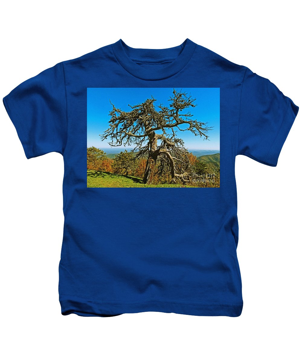 Lone Kids T-Shirt featuring the photograph All By Myself by Lydia Holly