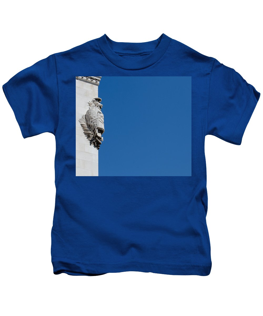 Rome Kids T-Shirt featuring the photograph Altar Of The Fatherland by Andrea Mazzocchetti