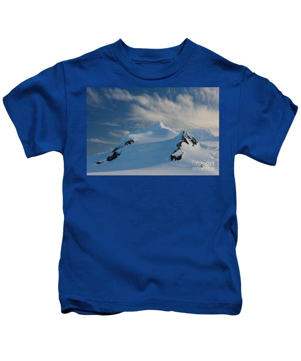 Nature Kids T-Shirt featuring the photograph Antarctic Landscape by John Shaw
