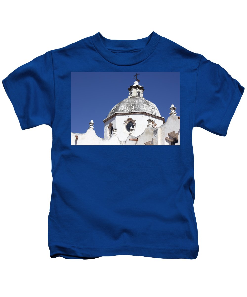 Kids T-Shirt featuring the photograph Atotonilco Hidalgo Mexico by Cathy Anderson