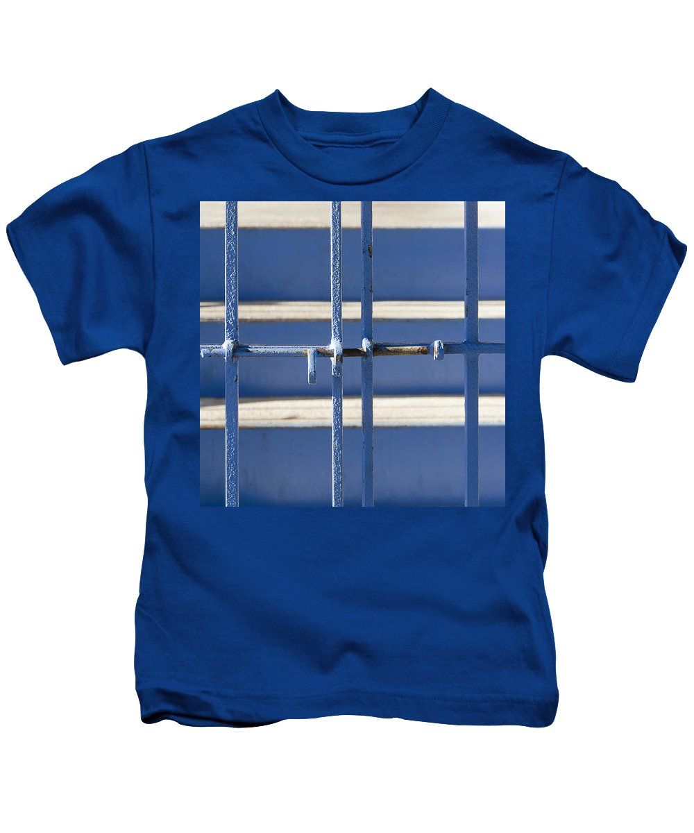 Rust Kids T-Shirt featuring the photograph Blue Steel by Rick Mosher