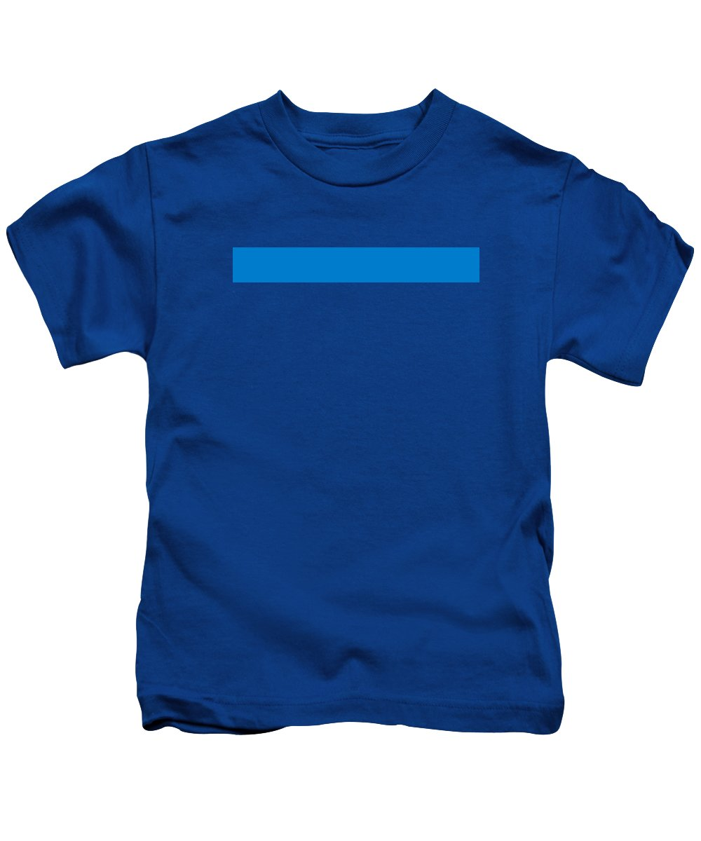 Abstract Kids T-Shirt featuring the digital art C.1.0-124-204.7x1 by Gareth Lewis
