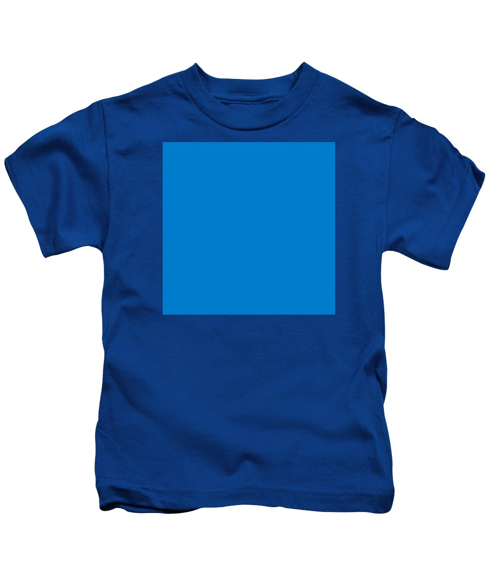 Abstract Kids T-Shirt featuring the digital art C.1.0-124-204.7x7 by Gareth Lewis