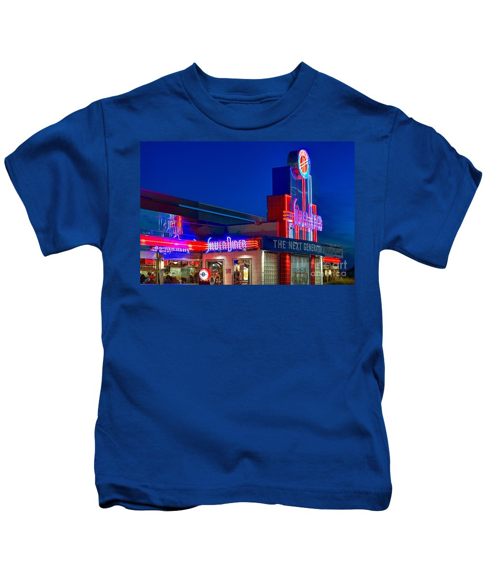 American Kids T-Shirt featuring the photograph Diner by John Greim