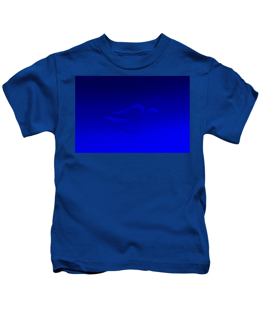 Dove Kids T-Shirt featuring the photograph Dove Blue by Rob Hans