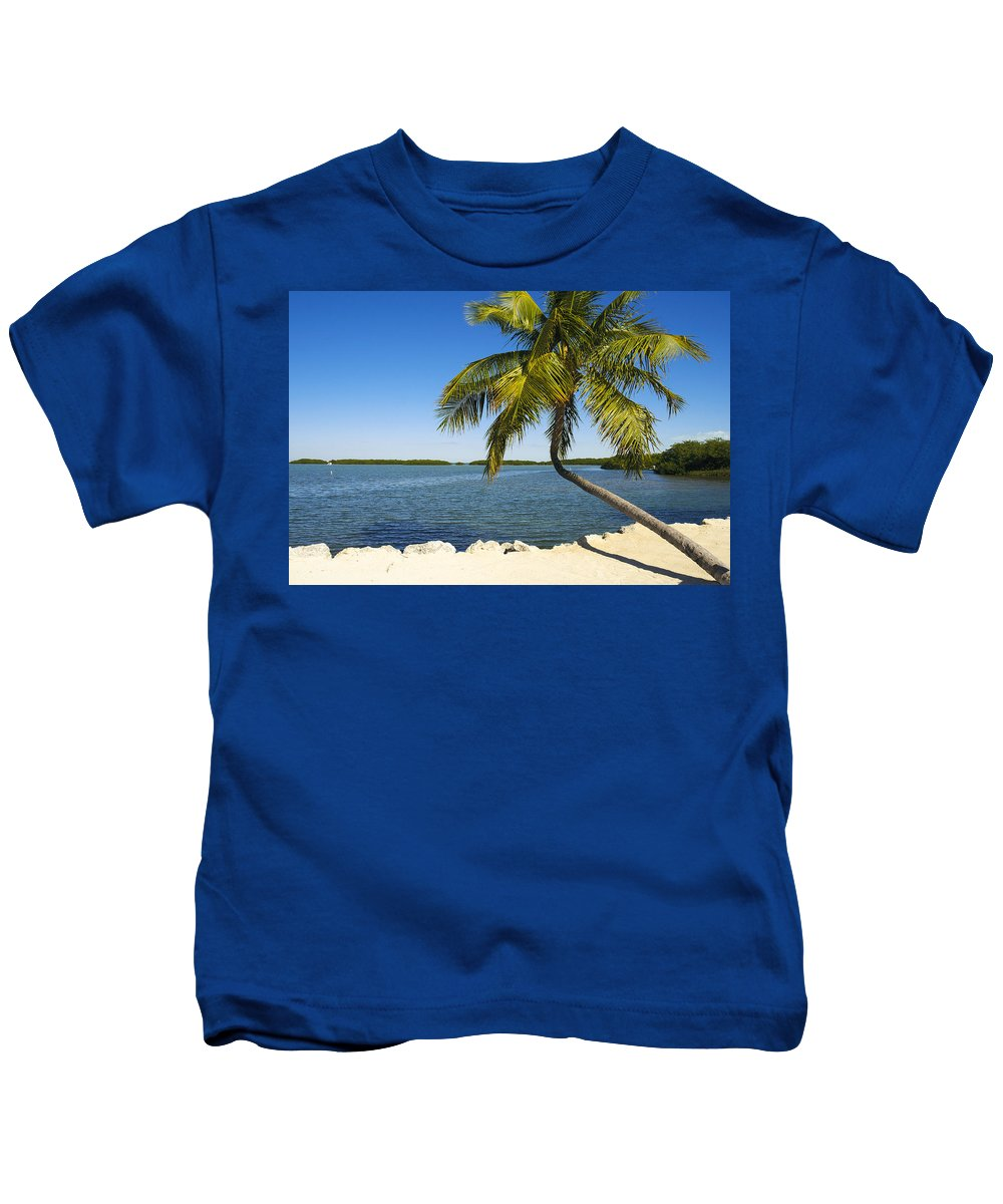 Bayshore Kids T-Shirt featuring the photograph Florida Keys by Raul Rodriguez