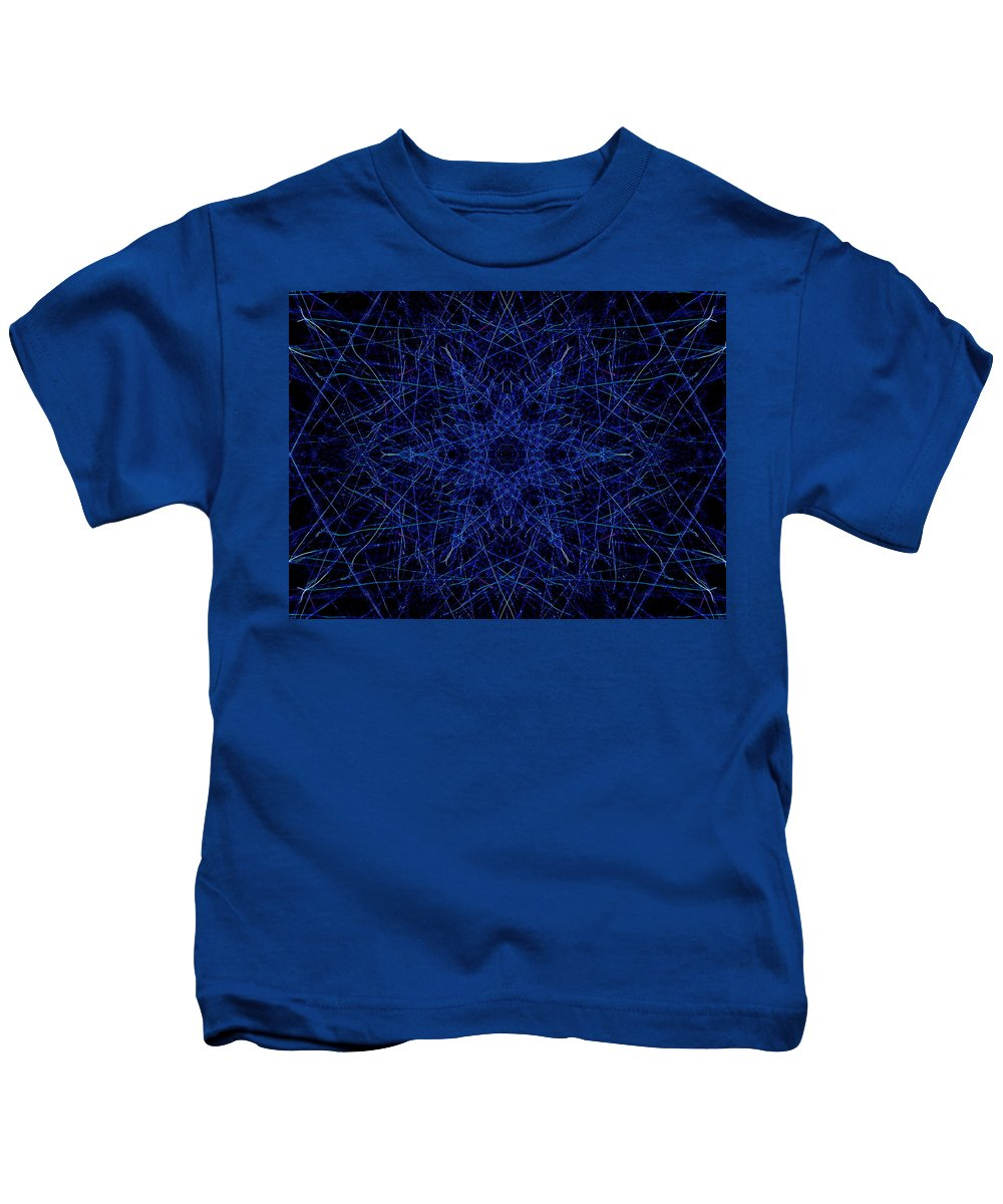 Colors Kids T-Shirt featuring the digital art Frosty by April Patterson