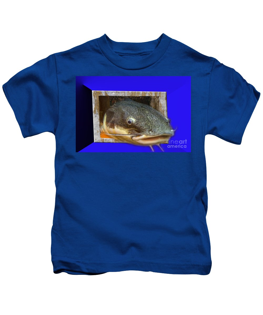 Digital Kids T-Shirt featuring the photograph Give Me A Hug by Donna Brown