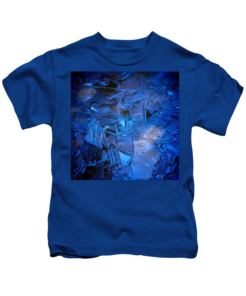Lehto Kids T-Shirt featuring the photograph Ice Slace by Jouko Lehto