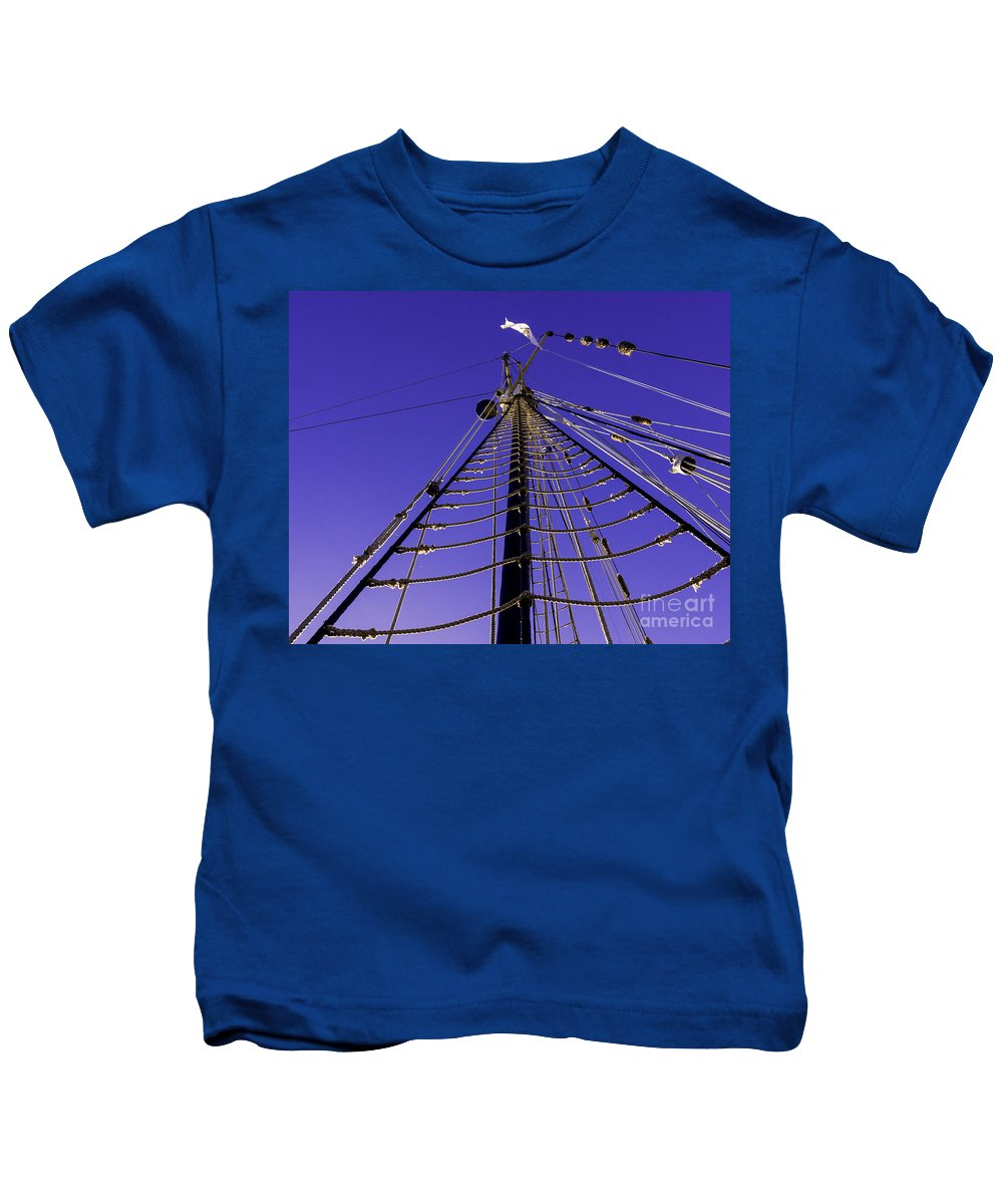 Tall Kids T-Shirt featuring the photograph If You Dare by Joe Geraci