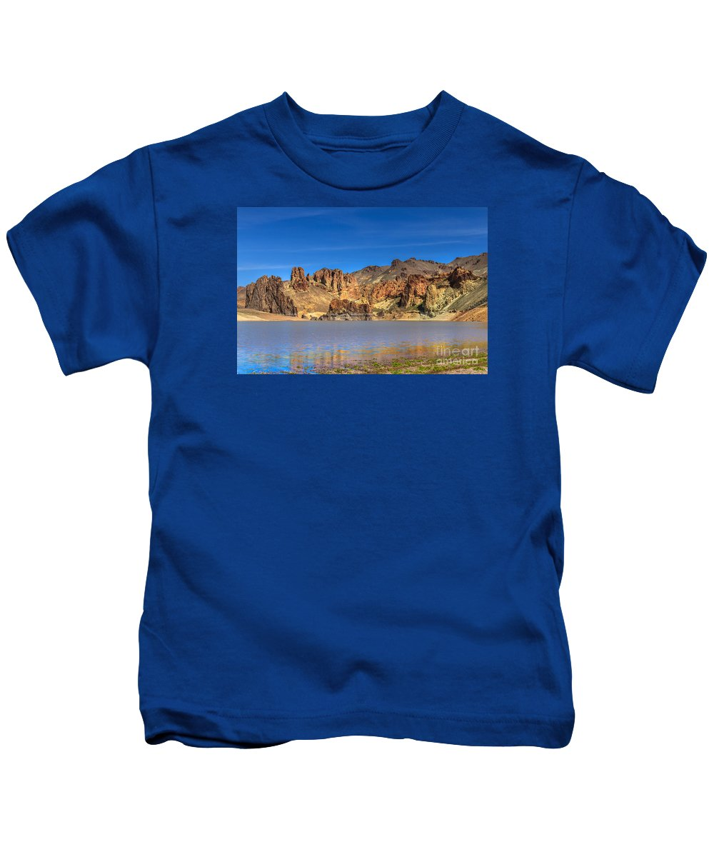 River Kids T-Shirt featuring the photograph Lake Owyhee by Robert Bales