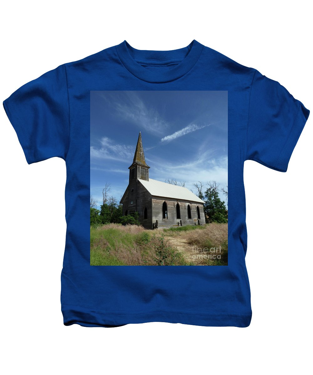 Landscape Kids T-Shirt featuring the photograph Lonesome by Lauren Leigh Hunter Fine Art Photography