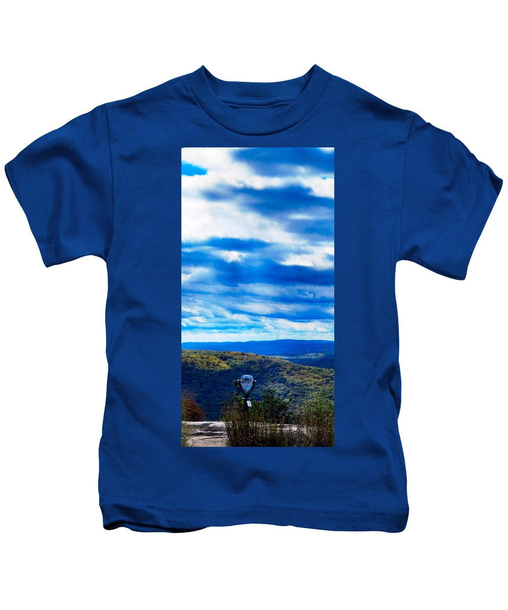 Sky Kids T-Shirt featuring the photograph Miles N Miles by Art Dingo