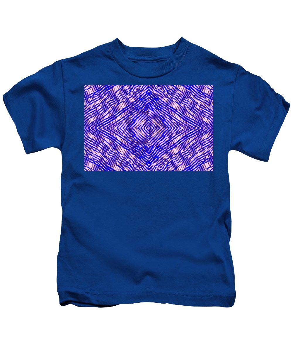 Digital Art Kids T-Shirt featuring the digital art Origins Unknown by Drew Goehring