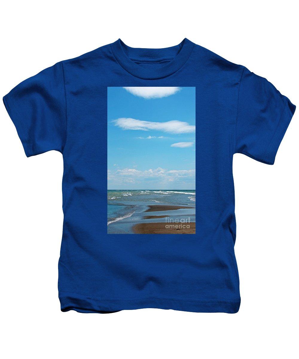 Canada Kids T-Shirt featuring the photograph Pelee by Ann Horn