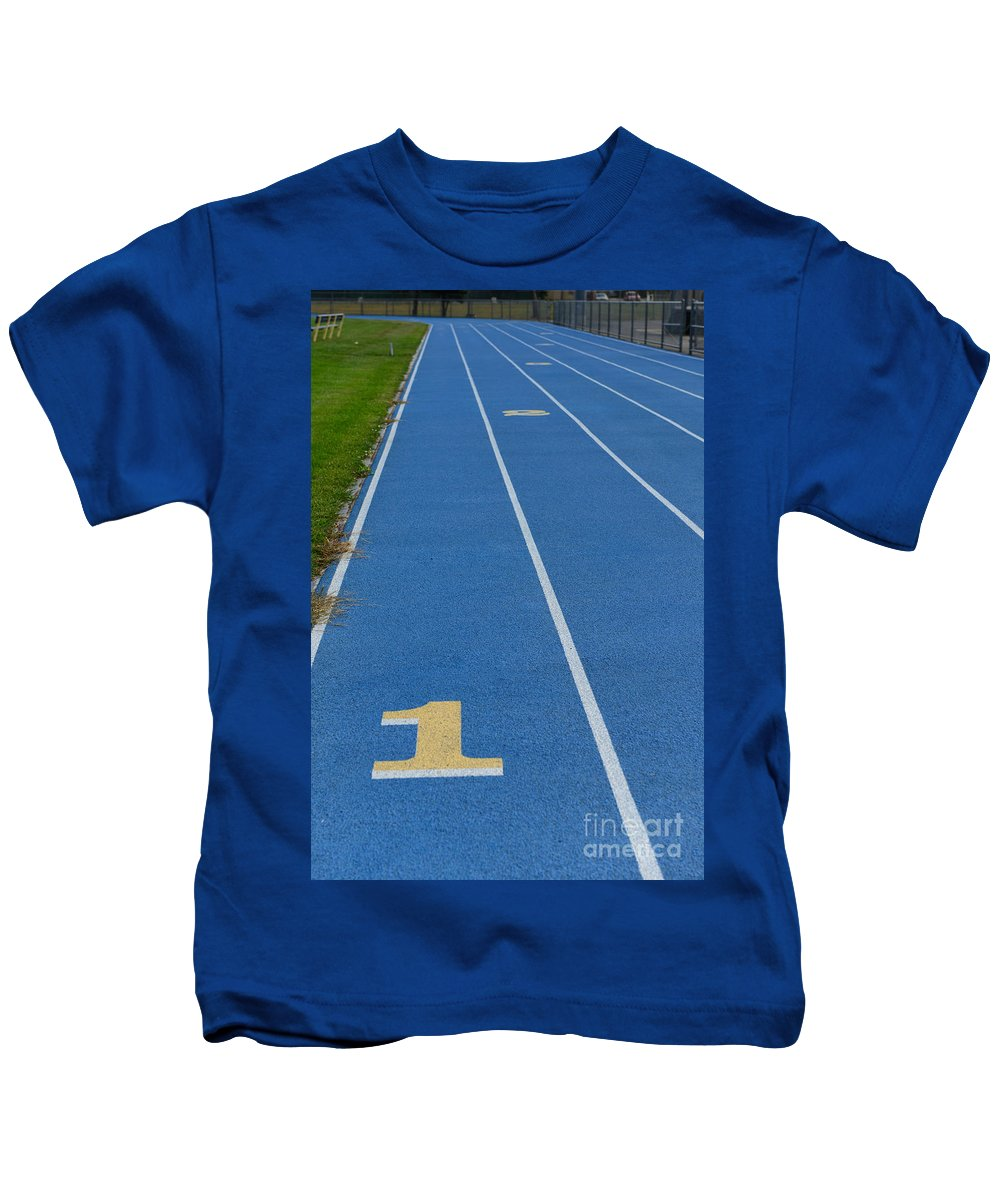 Oval Track Kids T-Shirts