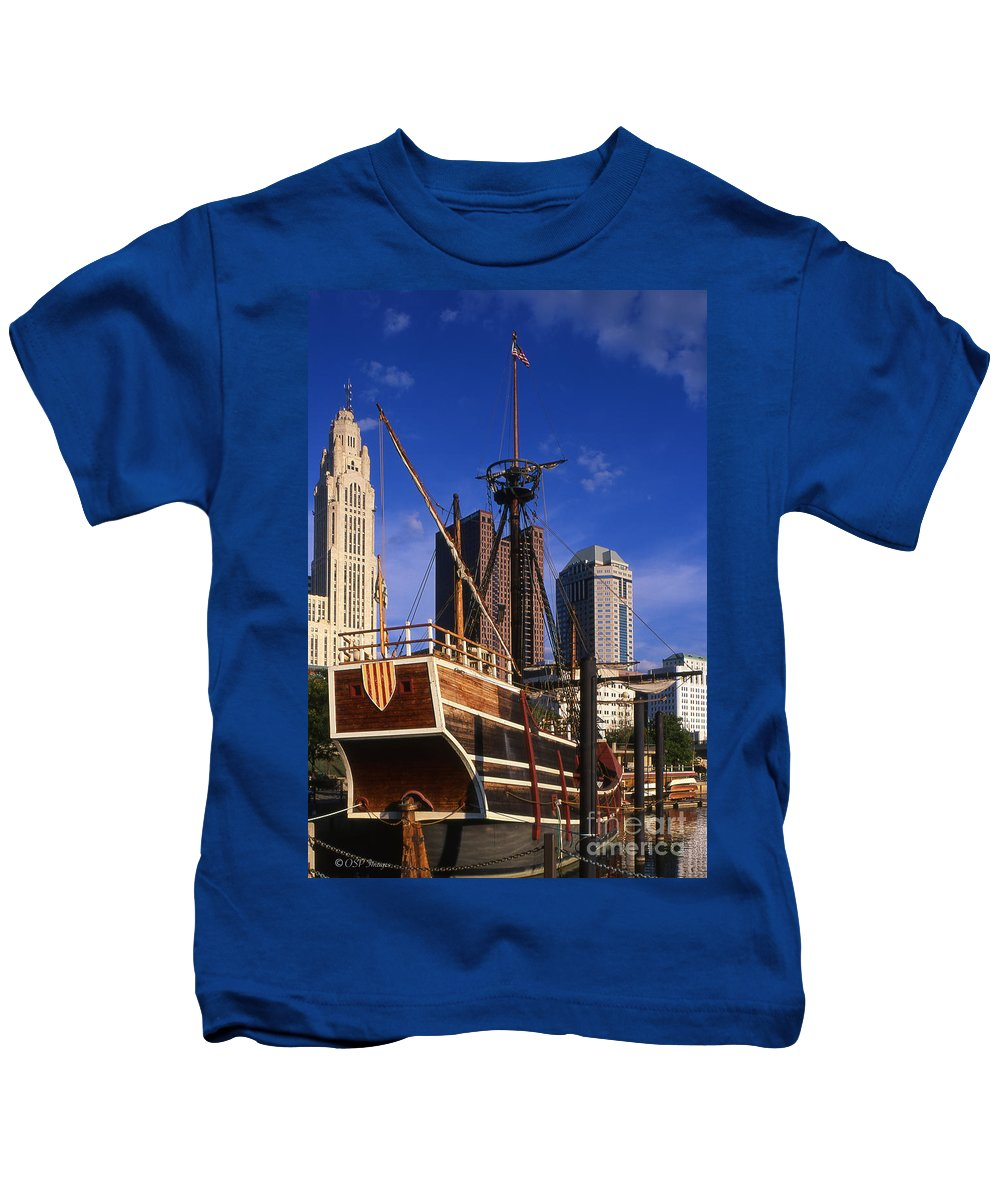 Santa Maria Kids T-Shirt featuring the photograph Santa Maria Replica Photo by Ohio Stock Photography