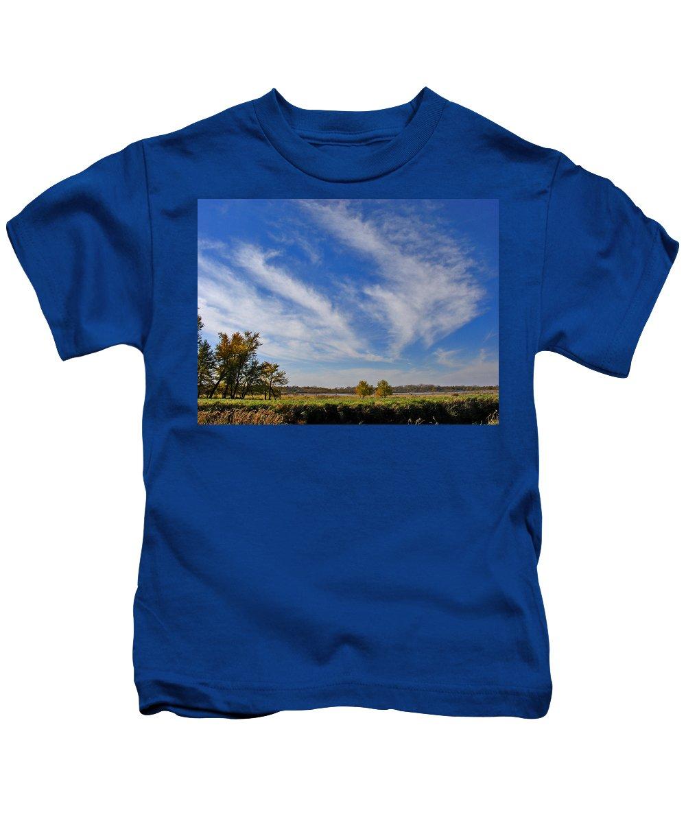 Landscape Kids T-Shirt featuring the photograph Squaw Creek Landscape by Steve Karol