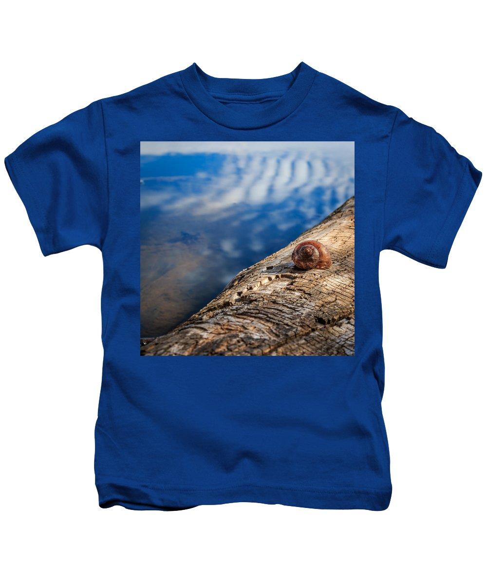 Gigimarie Kids T-Shirt featuring the photograph Still by Gina Herbert