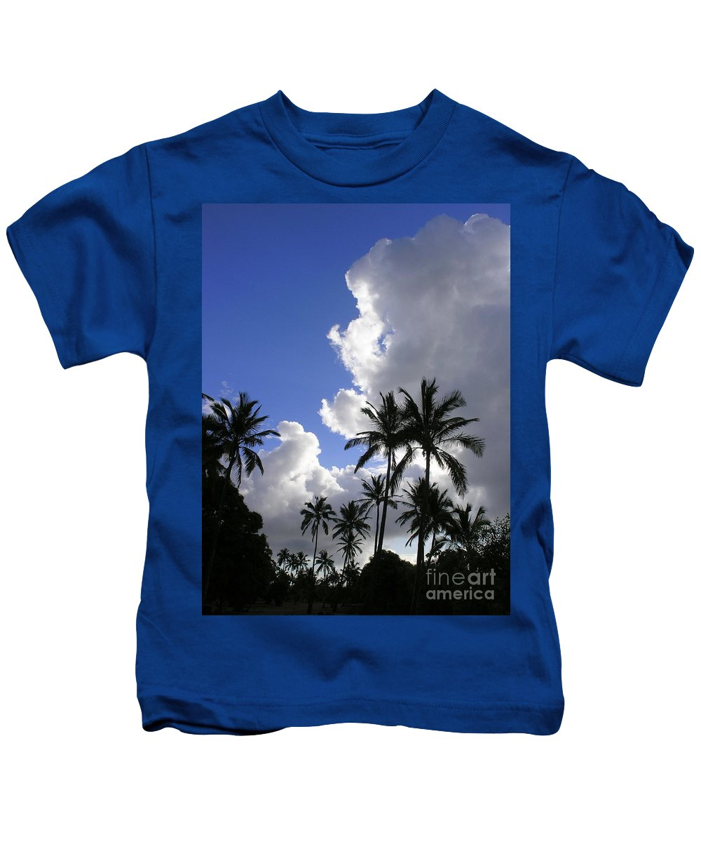 Mary Deal Kids T-Shirt featuring the photograph Storm Rolling In by Mary Deal