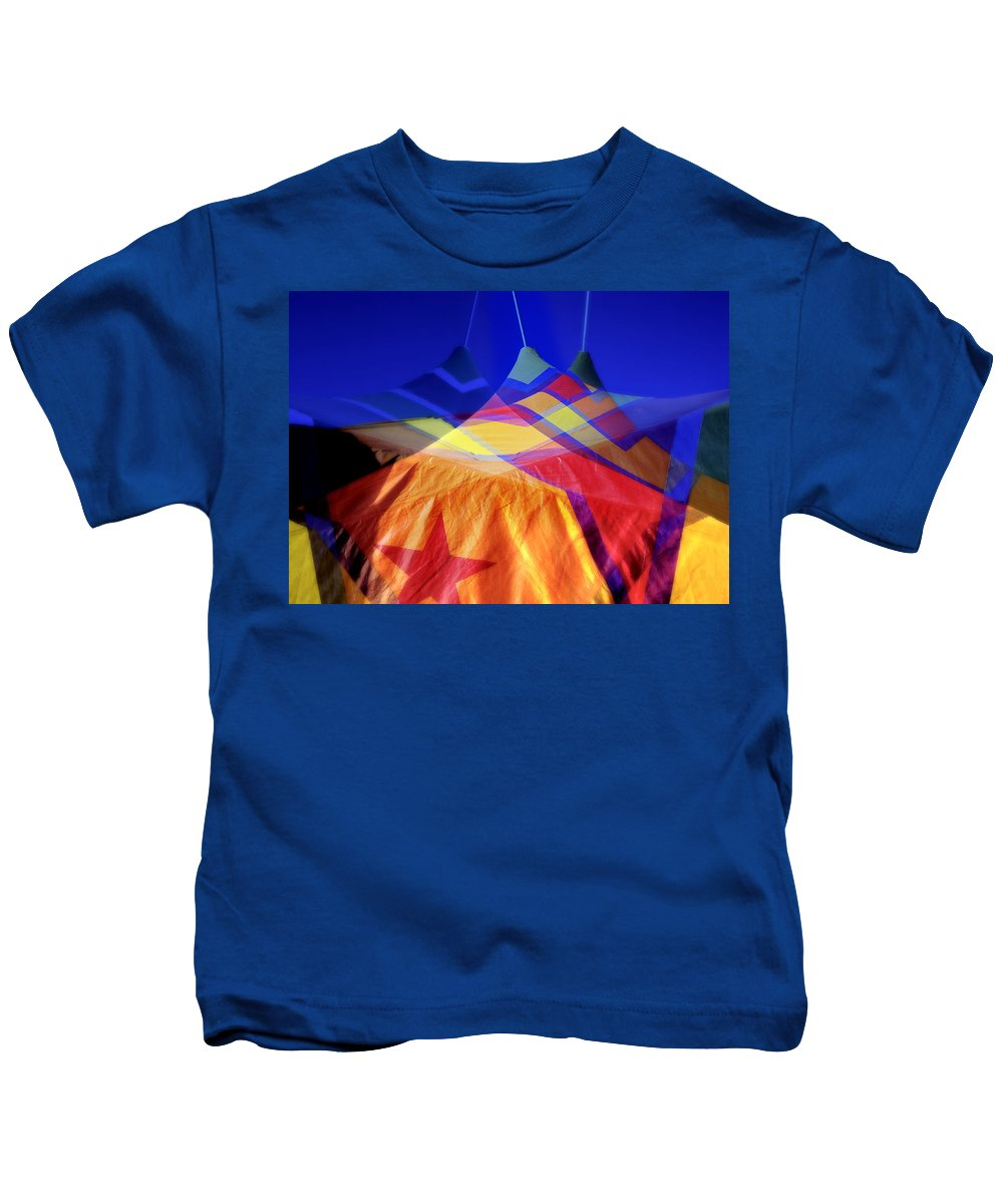 Tent Kids T-Shirt featuring the photograph Tent Of Dreams by Wayne Sherriff