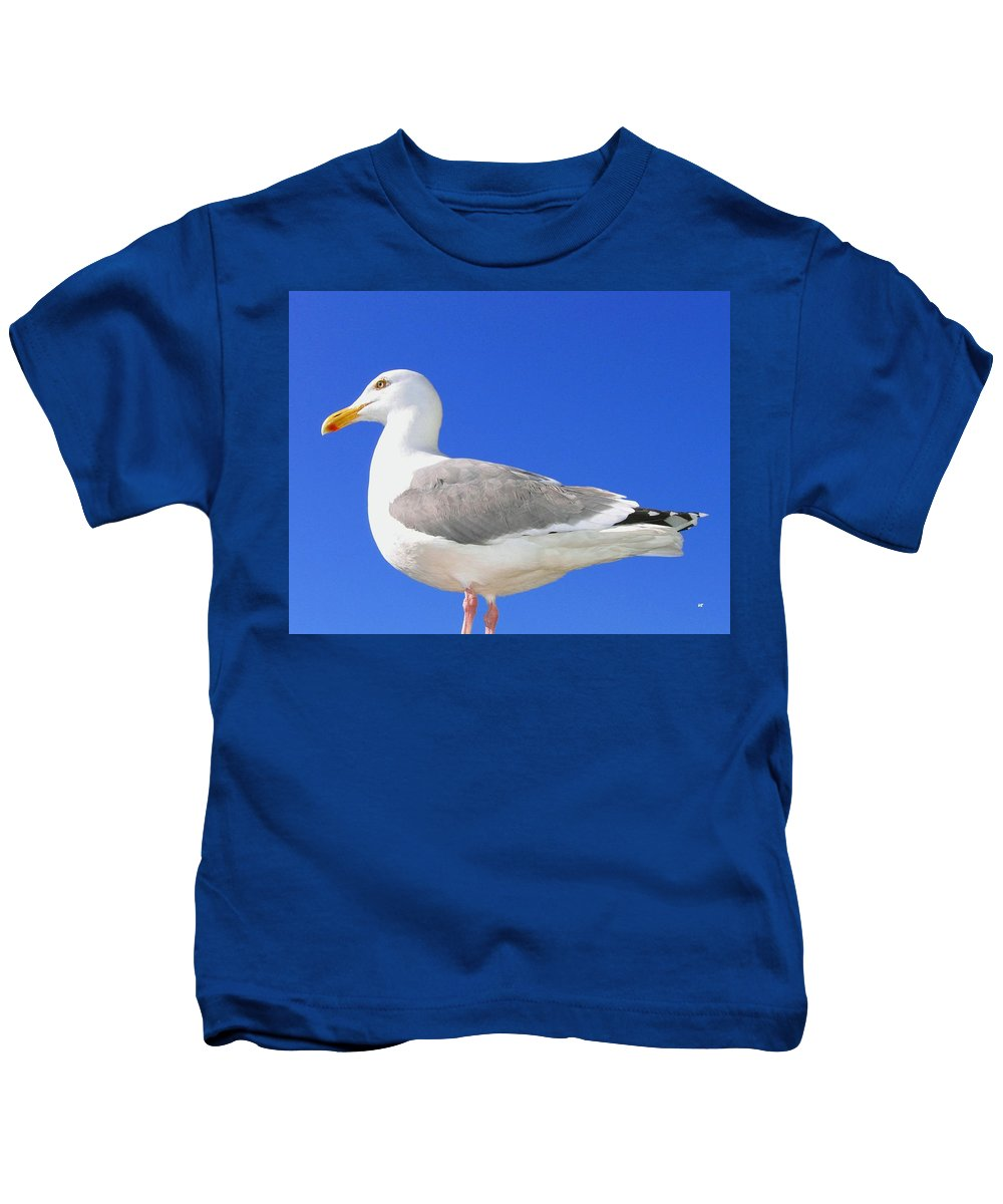 The Admiral Kids T-Shirt featuring the photograph The Admiral by Will Borden