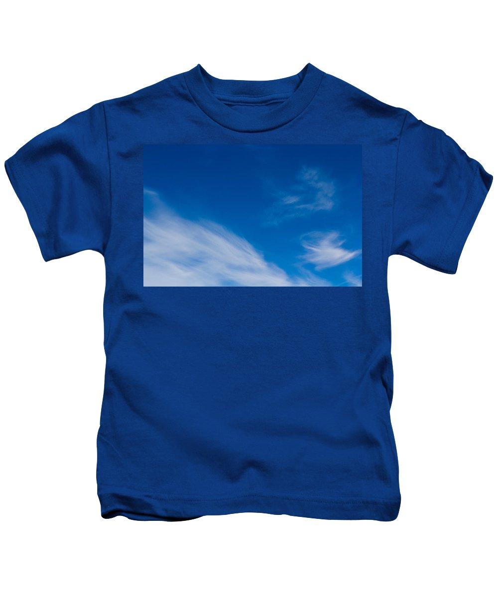 Clouds Kids T-Shirt featuring the photograph Cloud Imagery by David Pyatt
