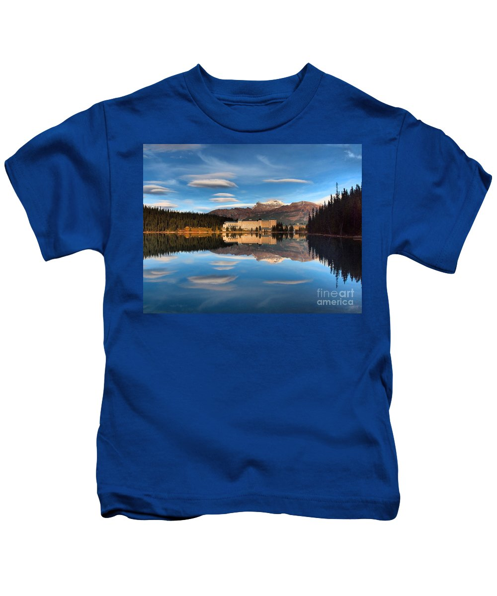 Hotel Kids T-Shirt featuring the photograph An Absolute Calm by Tara Turner