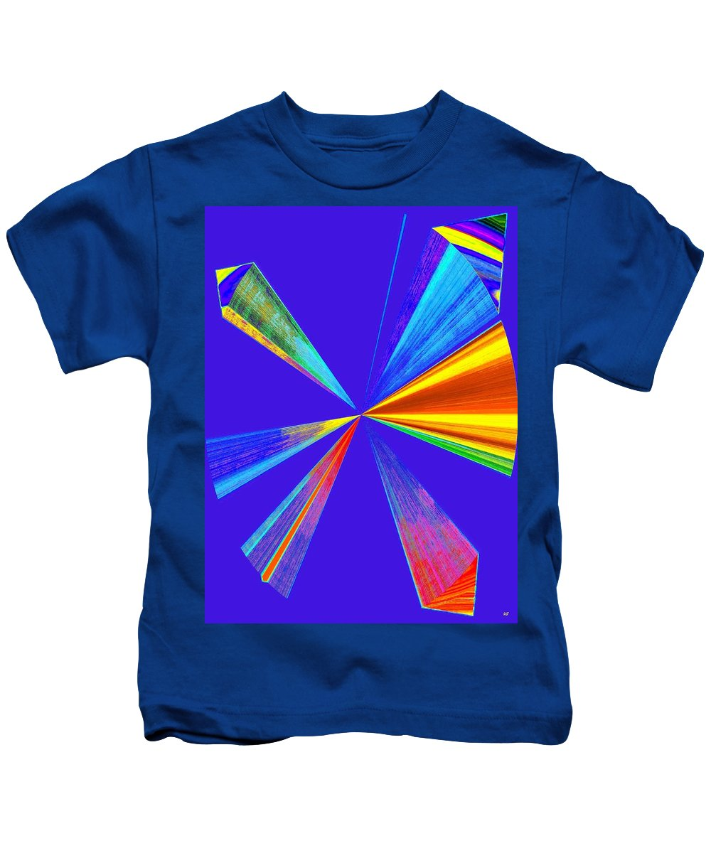 Abstract Kids T-Shirt featuring the digital art Conceptual 24 by Will Borden