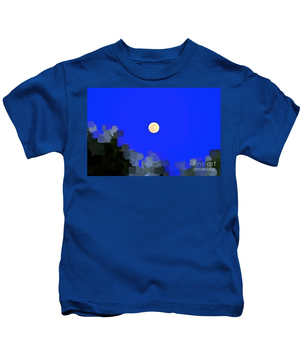 Moon Kids T-Shirt featuring the photograph Distortion by Gwyn Newcombe