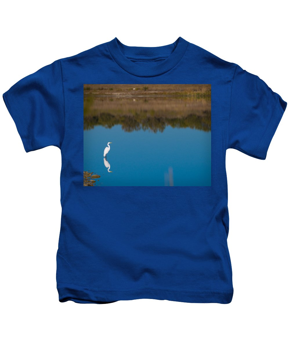Fall Color Kids T-Shirt featuring the photograph Herron 2 by Sean Wray