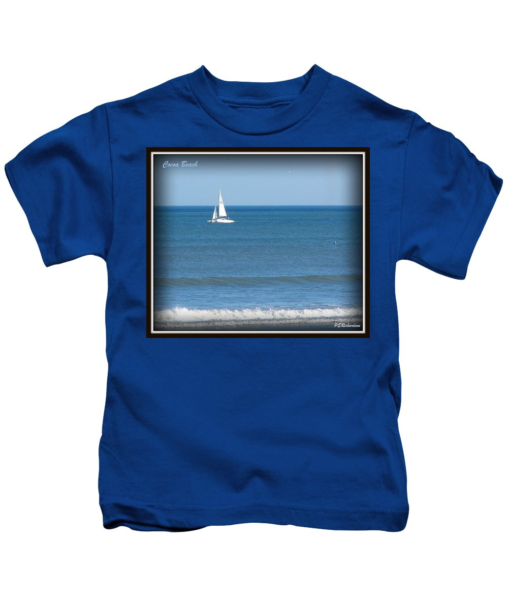 Cocoa Beach Kids T-Shirt featuring the photograph Journey by Priscilla Richardson