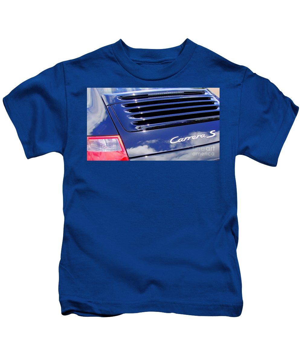 Porsche Kids T-Shirt featuring the photograph Porsche 911 Carrera S by Mary Deal