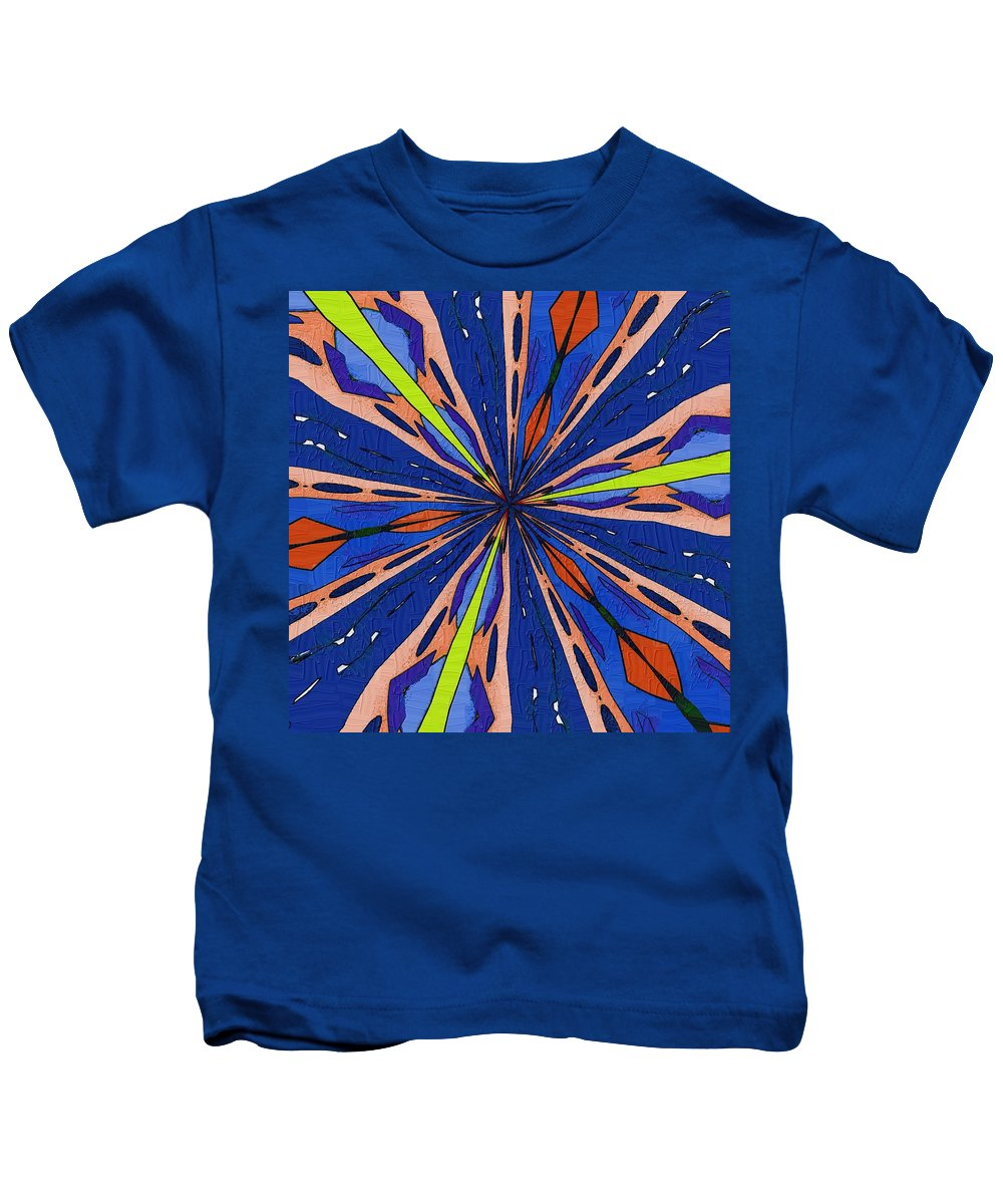 Passage Kids T-Shirt featuring the digital art Portal To The Past by Alec Drake