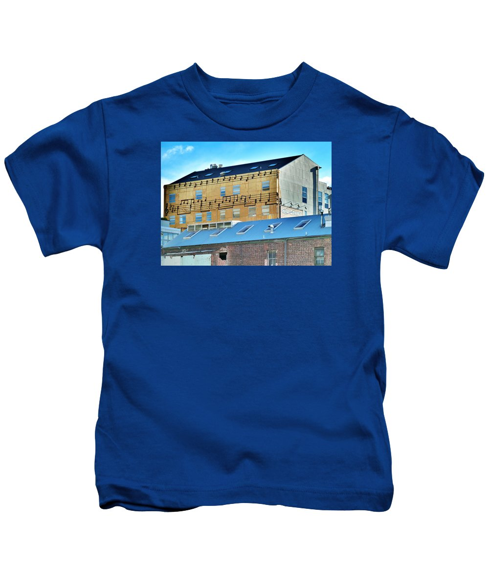 Real Groovy Kids T-Shirt featuring the photograph Real Groovy by Steve Taylor