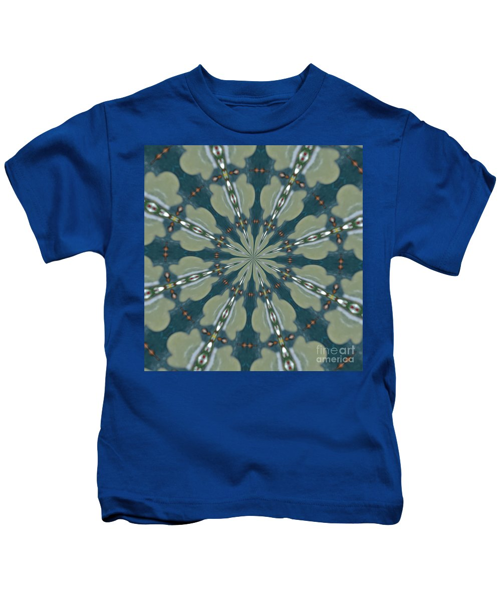 Kaleidoscope Kids T-Shirt featuring the photograph The Lace by Donna Brown