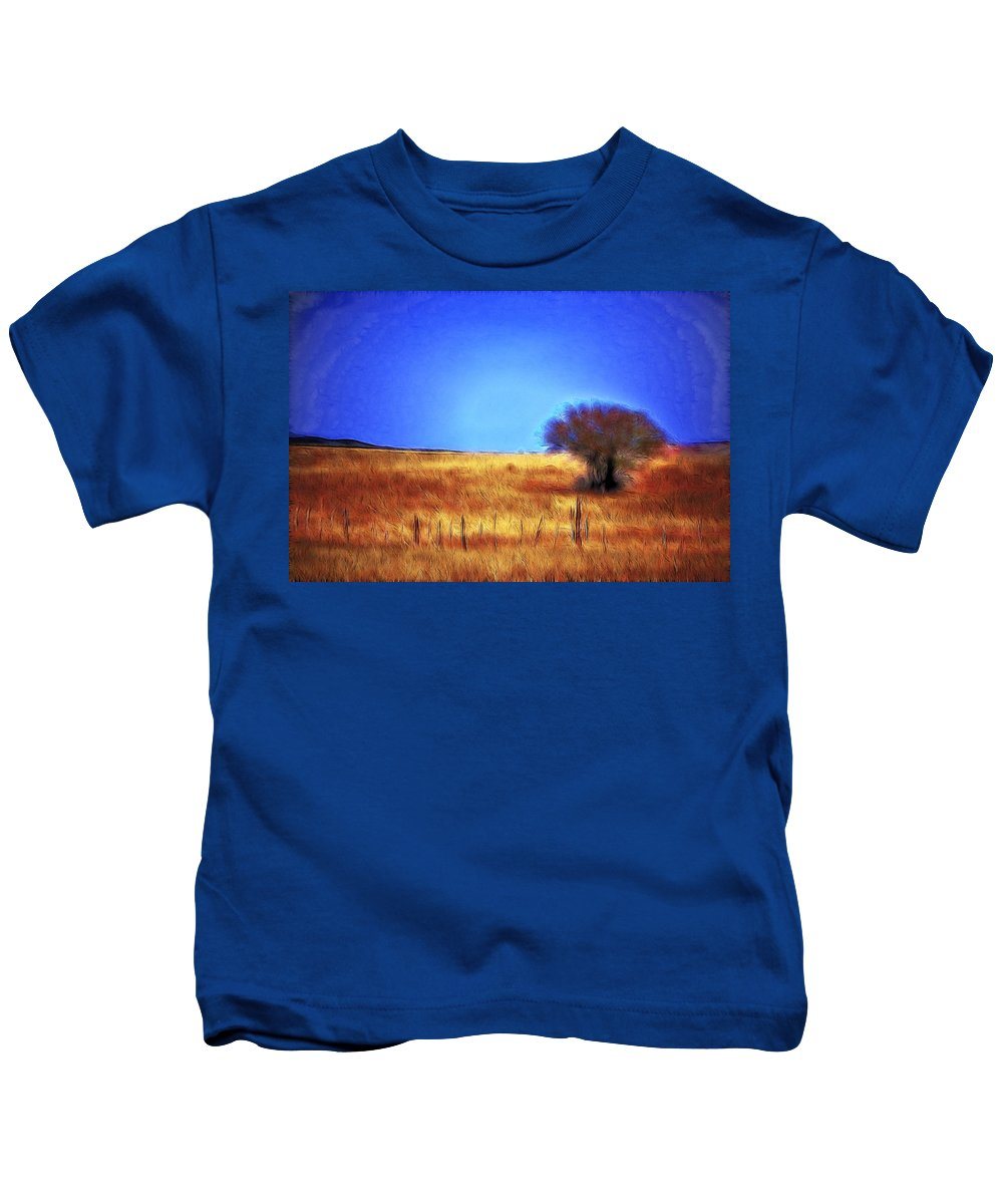 Fine Art Kids T-Shirt featuring the photograph Valley San Carlos Arizona by Donna Greene