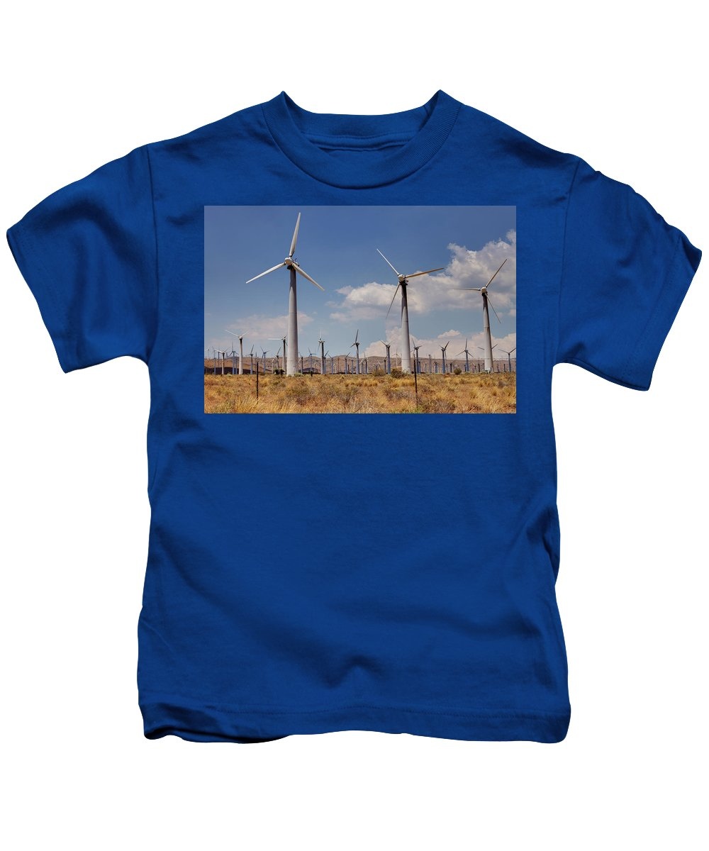 Alternate Kids T-Shirt featuring the photograph Windblown by Ricky Barnard