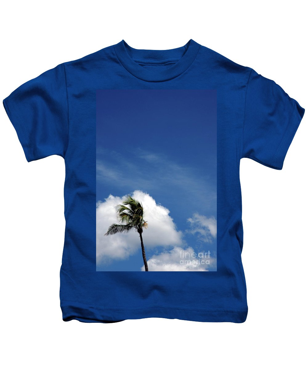 Florida Kids T-Shirt featuring the photograph Florida Clouds by Susanne Van Hulst