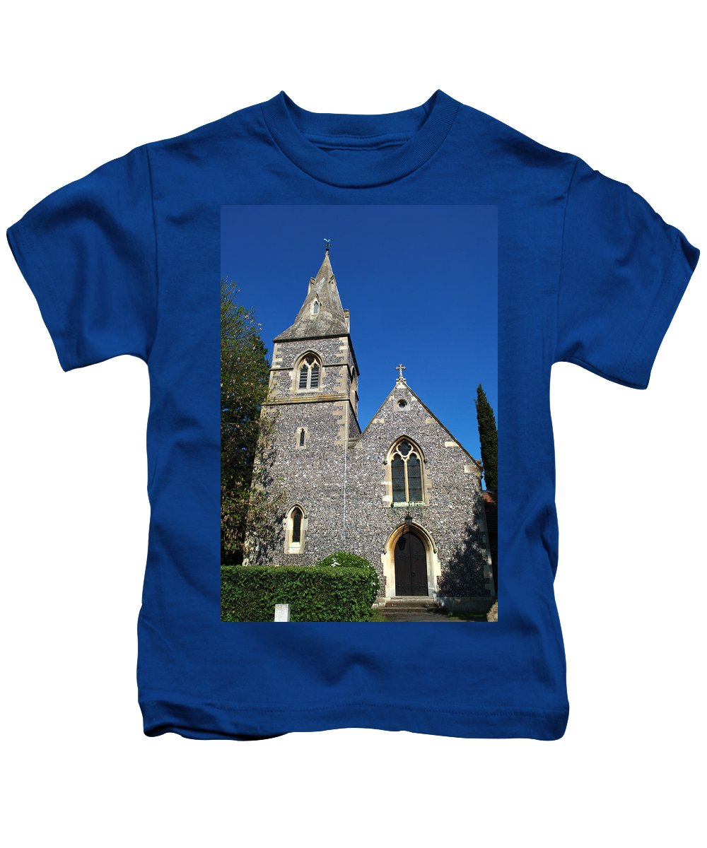 St Kids T-Shirt featuring the photograph St Peters Marlow by Chris Day