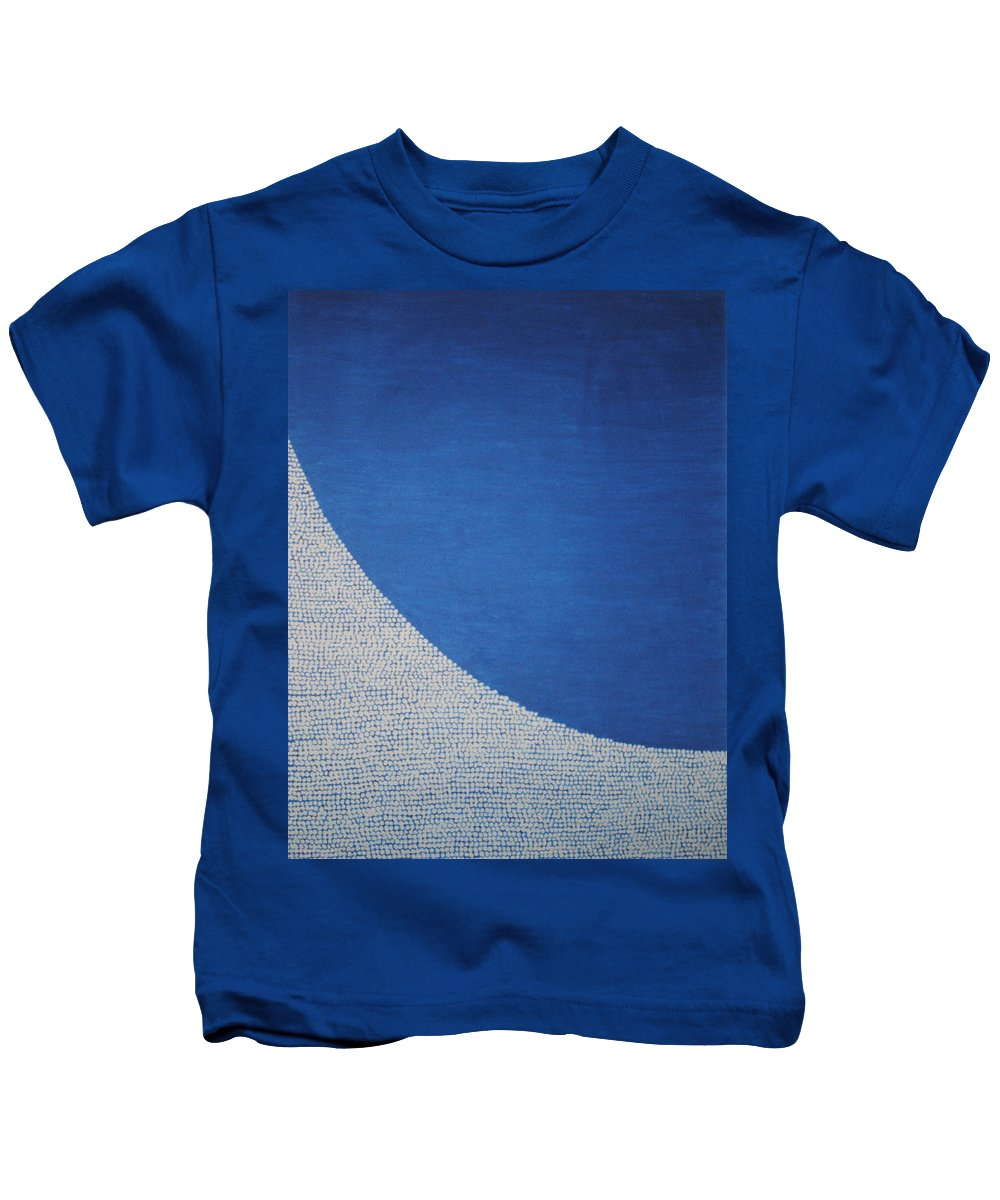 Inspirational Kids T-Shirt featuring the painting Perfect Existence by Kyung Hee Hogg