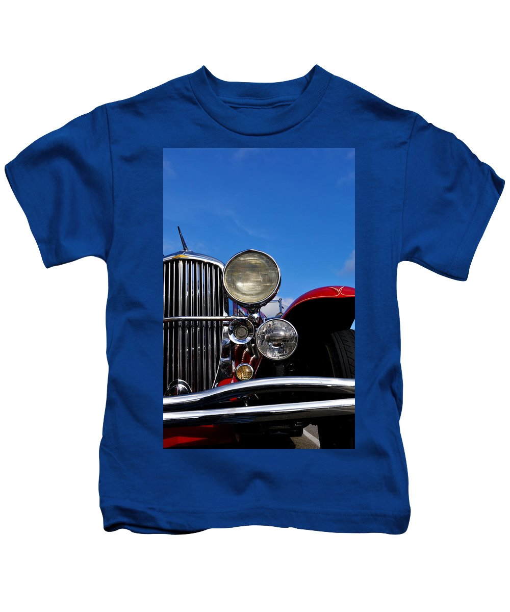 Vintage Kids T-Shirt featuring the photograph Duesenberg by Tim Nyberg