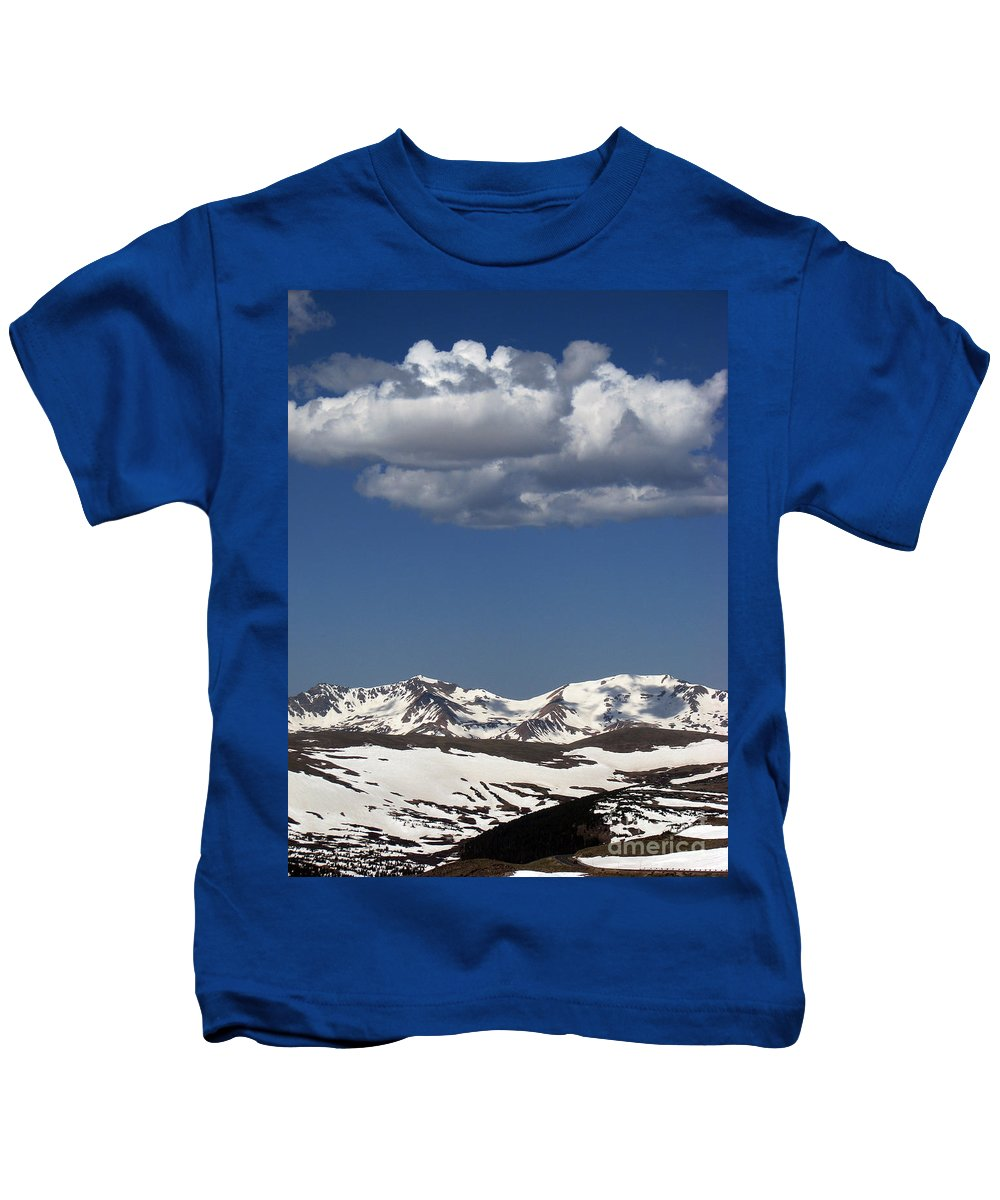 Colorado Kids T-Shirt featuring the photograph Above It All by Amanda Barcon