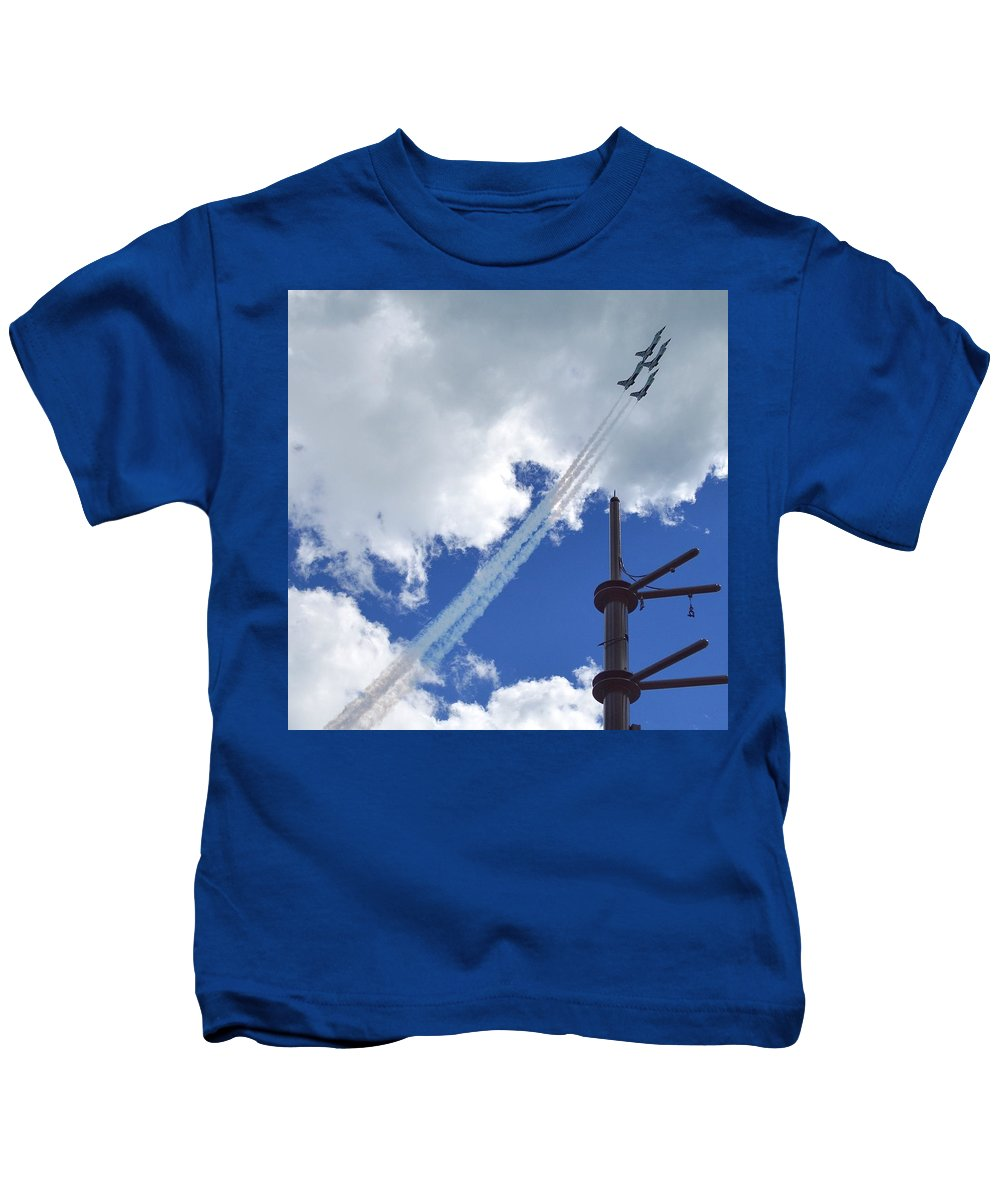 Chicago Kids T-Shirt featuring the photograph Air Show by Sharmila Taylor