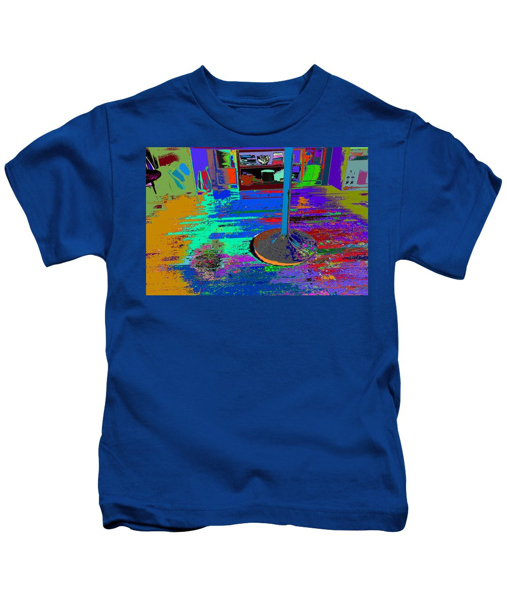 Find U'r Love Found Kids T-Shirt featuring the photograph always at ease - Wellness Works - Glendale by Kenneth James