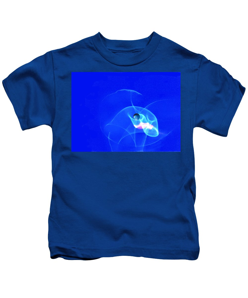 Abstract Kids T-Shirt featuring the photograph Apparition pearl by Steve Karol