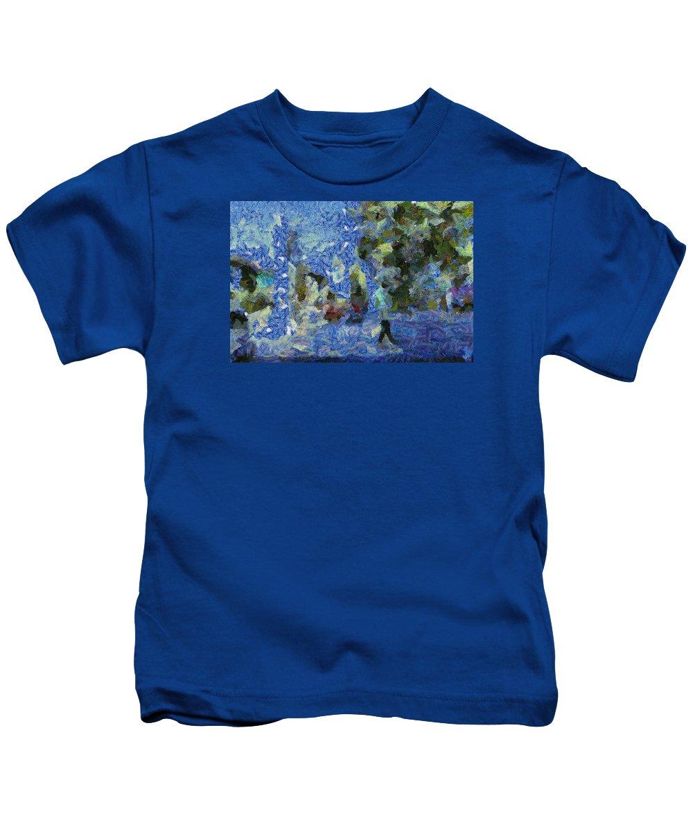 Life Kids T-Shirt featuring the photograph Aquatic Life by Ashish Agarwal